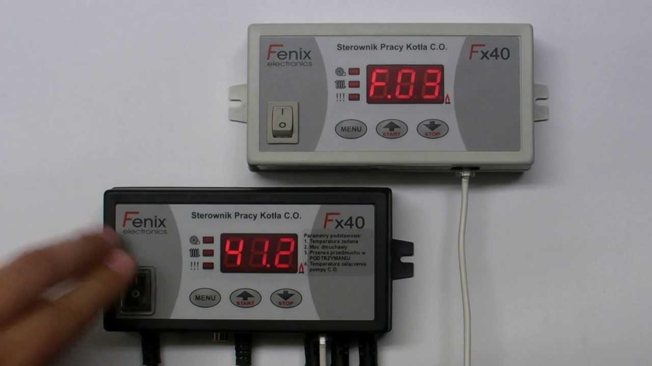 Znane Współpraca sterownika Fx41.2.1 z panelem pokojowym Fenix  KE-12
