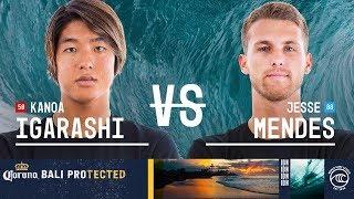 Kanoa Igarashi vs. Jesse Mendes - Round of 16, Heat 8 - Corona Bali Protected 2019