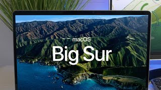 Mac OS Big Sur | New Look & Features!