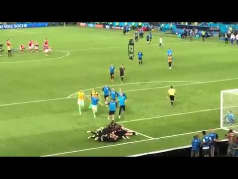Croatia vs. Russia / Penalty shootout goal