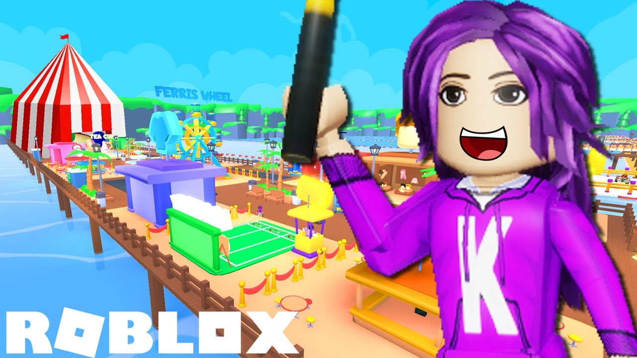 We built a HUGE CARNIVAL on a pier! (1 rebirth) 🎪 | Roblox