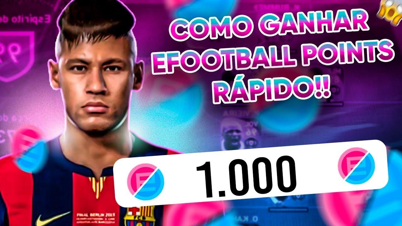 😱 GANHE 1000 EFOOTBALL POINTS SUPER RAPIDO! PONTOS EFOOTBALL PARA CONTRATAR ICONCI MOMENTS! myclub 🔥