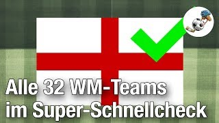 Alle 32 WM-Teams im Super-Schnellcheck [Sportillon]