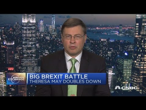 Valdis Dombrovskis talks Europe and climate