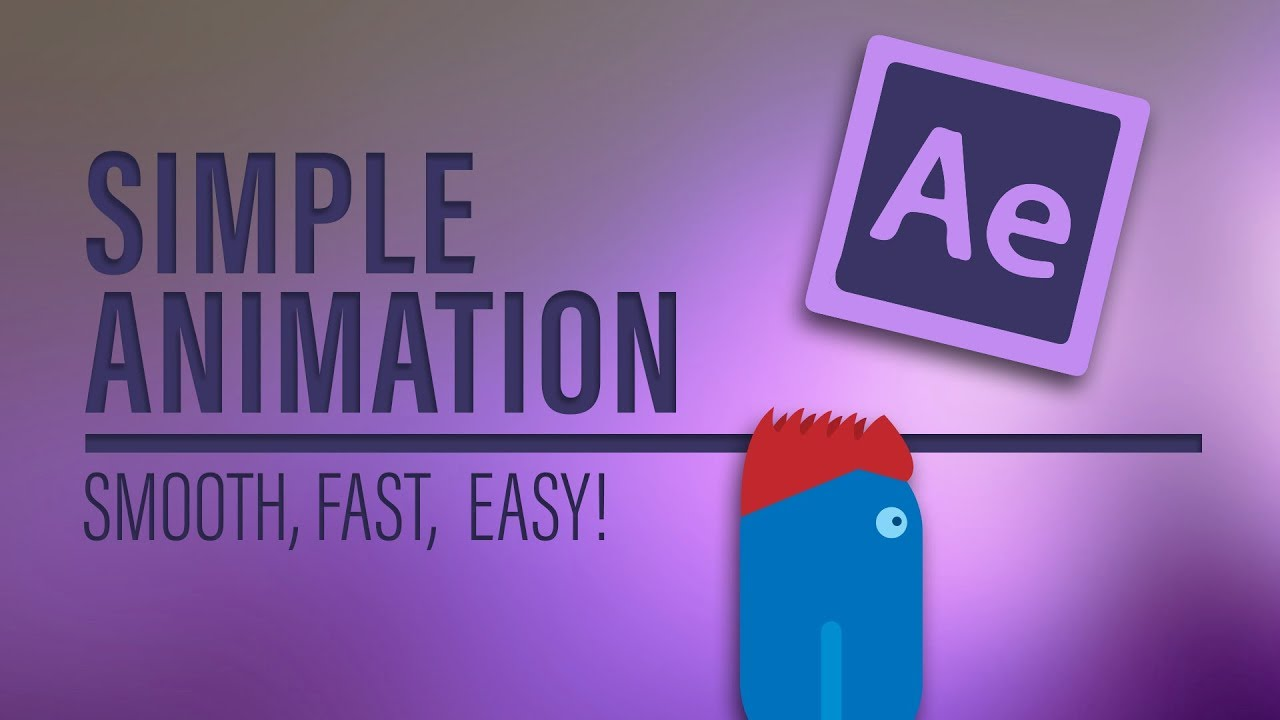 How to make simple ANIMATION in After Effects   Tutorial