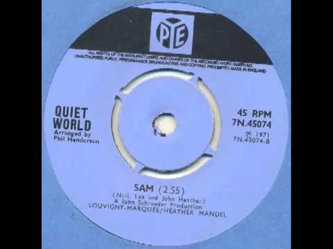 Quiet World - Sam (stoned bluesy folk funk)