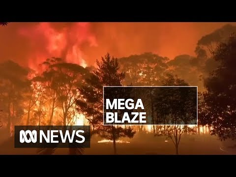 Homes Believed Lost In NSW 'mega Blaze' As Firefighters Tackle 70-metre Flames | ABC News