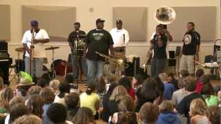 Soul Rebels Brass Band Concert // Just A Closer Walk With Thee