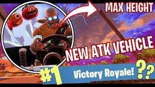NEW ATK VEHICLE at MAX HEIGHT!! - FORTNITE BATTLE ROYALE!