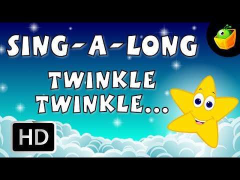 Karaoke: Twinkle Twinkle Little Star - Songs With Lyrics - Cartoon/Animated Rhymes For Kids