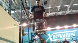 Xenios USA - muscle-up at the Rings !