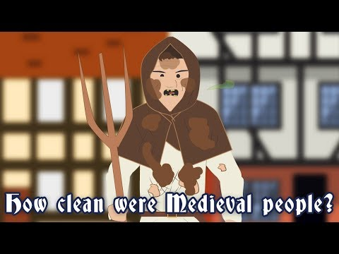 How clean were Medieval  people?