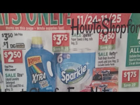 Sparkle Paper Towels Deal at Dollar General with Coupons