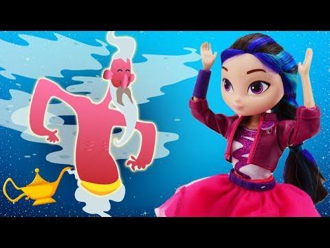 Куклы Сказочный Патруль— Новые приключения— Волшебницы иогненный джинн! —Игры для девочек
