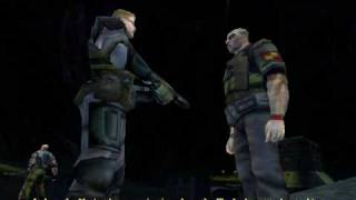 AvP2 Video Walkthrough Marine Campaign Level 3: Betrayal part 1