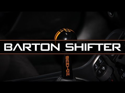 Barton Shifter complete Install - Dodge Challenger Scat Pack