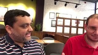 Speaking Esperanto with Angelo in Dubai