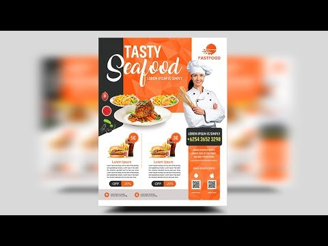 Master chef cooking business Flyer - Photoshop Tutorials thumbnail