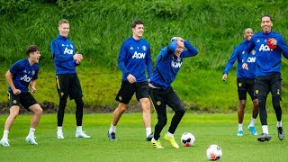vuclip Manchester United training today with Harry Maguire  daniel james watch