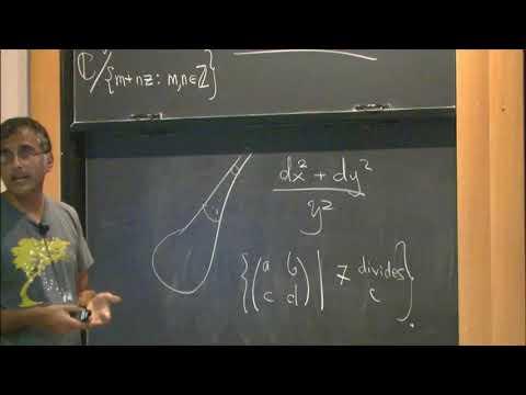 Analysis and topology on locally symmetric spaces - Akshay Venkatesh