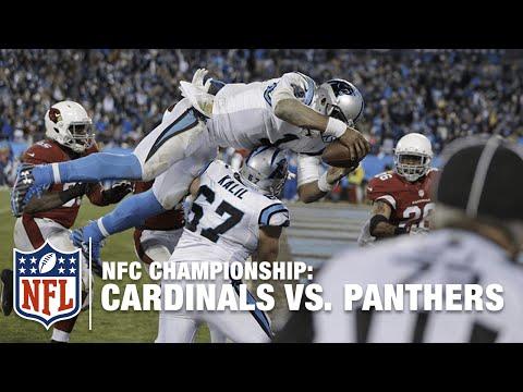 Cam Newton Runs Through Cardinals Defense for TD!   Cardinals vs. Panthers   NFL