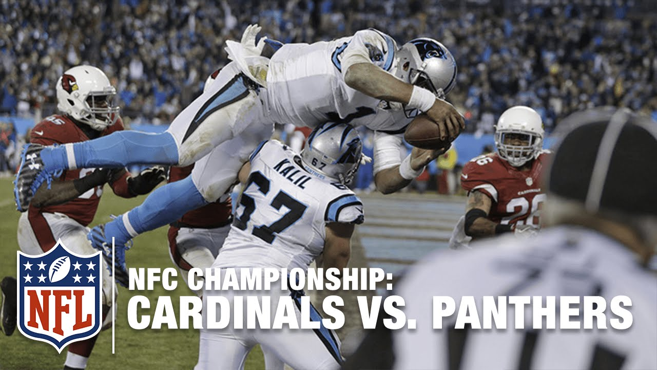 Cam Newton Runs Through Cardinals Defense for TD! | Cardinals vs. Panthers | NFL