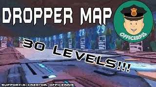 (New) Fortnite Dropper Map With 30 Levels!! CODE: 2459-9582-5757