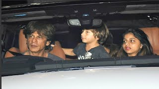 Abram Khan Poses With Suhana Friends
