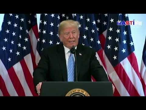 """""""No me gusta lo que está pasando en Cuba"""", dijo Trump a Radio y Televisión Martí"""