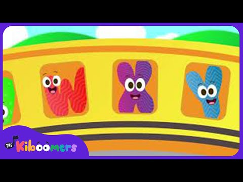 The Letters On the Bus | ABC Song  | Alphabet Song | ABC Songs | The Kiboomers