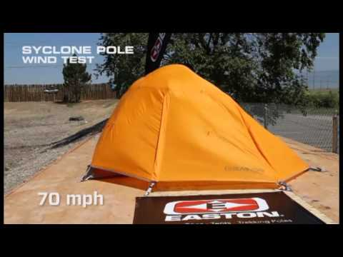 Syclone Pole test. Easton Outfitters & Syclone Pole test - YouTube