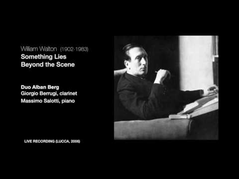 William Walton - Something Lies Beyond The Scene (from Facade)