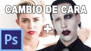 Como cambiar una cara - Tutorial Photoshop en Español por @prismatutorial