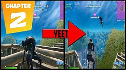 Fortnite Chapter 2 But I Have to Yeet Everyone I Eliminate