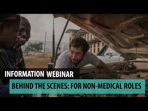 Behind The Scenes: recruitment webinar for non-medical roles