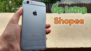 Mở Hộp Ốp Lưng Iphone Trong Suốt Trên Shopee |Mua Hàng Online