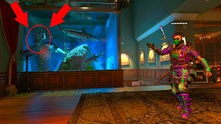 I FOUND AN ENEMY HIDING FROM EVERYONE INSIDE THE SHARK TANK  HIDE N' SEEK ON *BLACK OPS 4*
