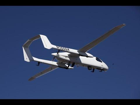 Northrop Grumman Firebird with Three Eyes and Fourth Sensor Payload
