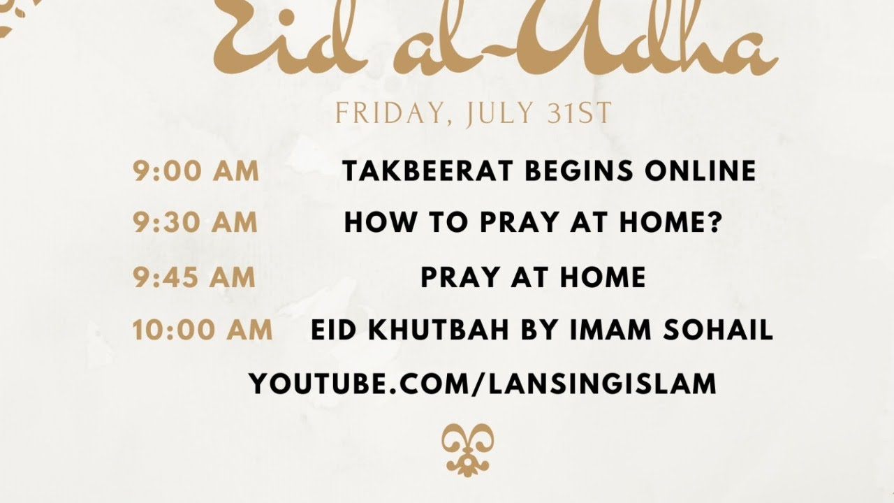 Prayers Scheduled Across OC For Eid al-Adha  One of The Biggest ...