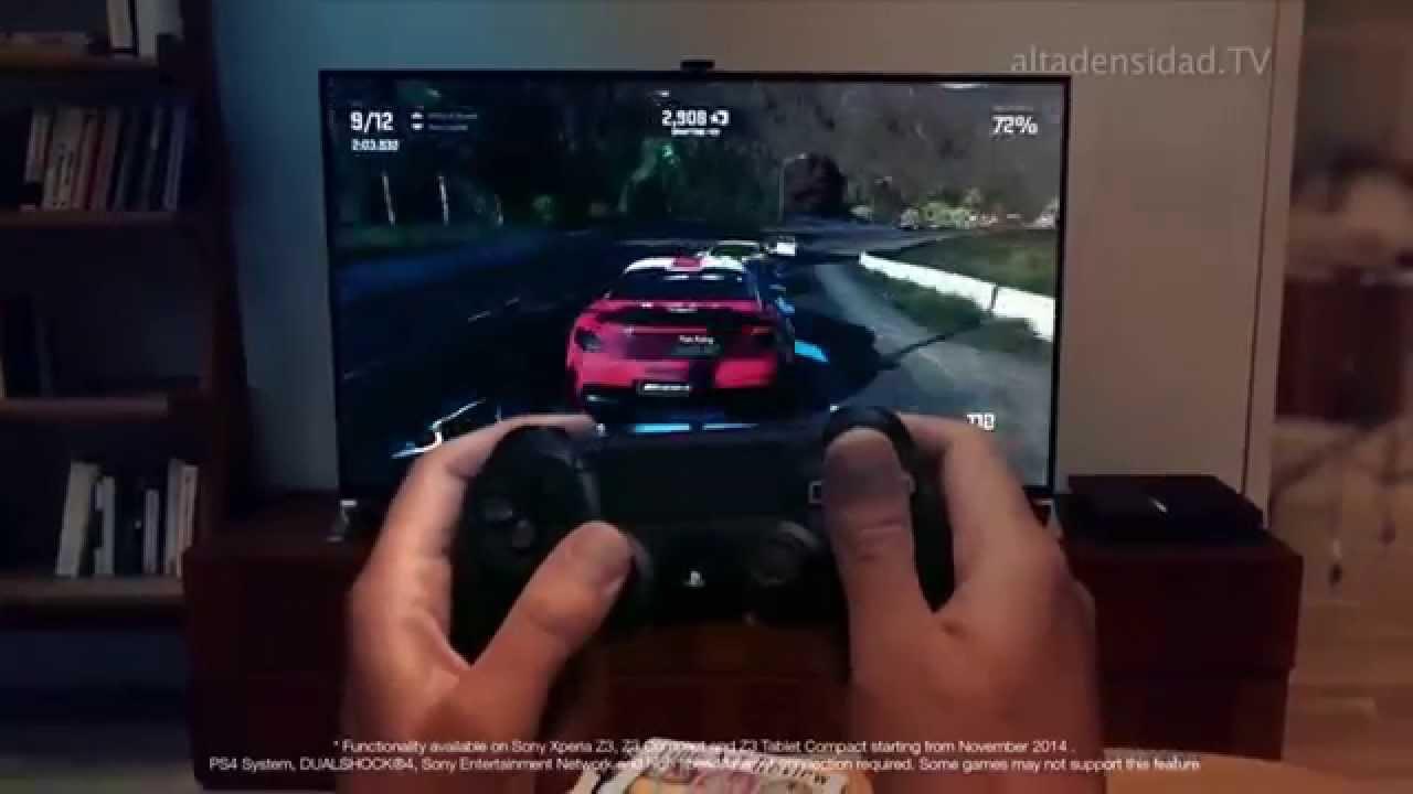 Nuevos xperia z3 contar n con remote play para jugar ps4 for Sillas para jugar ps4