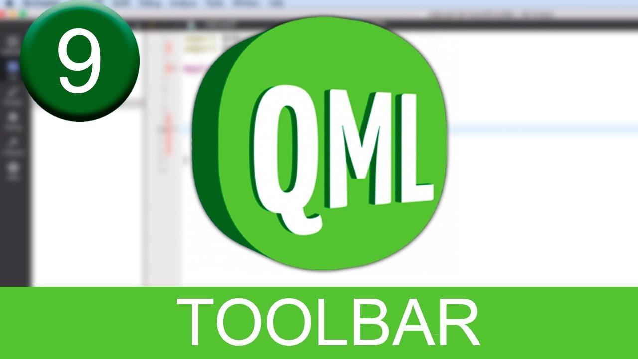 Tutorial Qt Creator - QML - ToolBar
