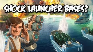 Boom Beach - Stupid Shock Launchers...