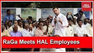I Stand With HAL Employees Who Are Hurt By Modi Govt : Rahul Gandhi