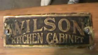 Hoosier Cabinet Project #3--Pickin' & Gri--err, Washin' :)