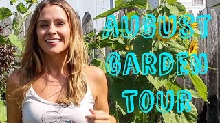 August Garden Tour - TOMATOES! Peppers, eggplant, squash and more!