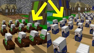 MENOR GUERRA DE REINOS NO MINECRAFT