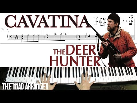 """Jacob Koller - Cavatina from """"The Deer Hunter"""" - Advanced Piano Cover With Sheet Music"""