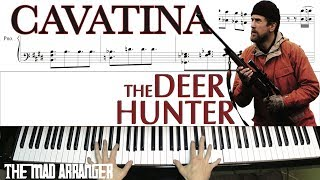 "Jacob Koller - Cavatina from ""The Deer Hunter"" - Advanced Piano Cover With Sheet Music"