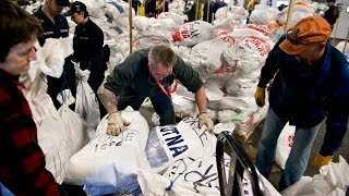 Supply bags gathered for 2016 Iditarod