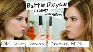 Maybelline Fit Me Concealer - Is it a dupe for NARS Creamy Concealer?